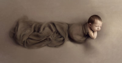 Fine art newborn photography