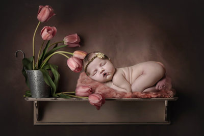 Are you looking for artistic newborn images?