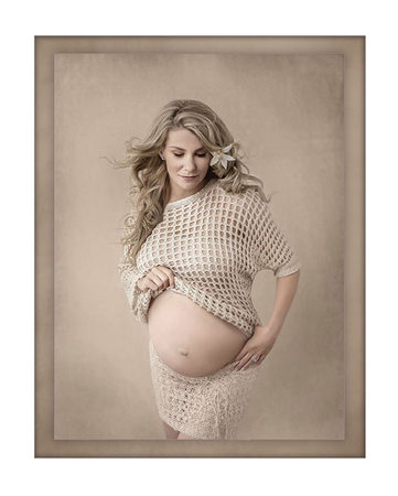 High fashion maternity photography
