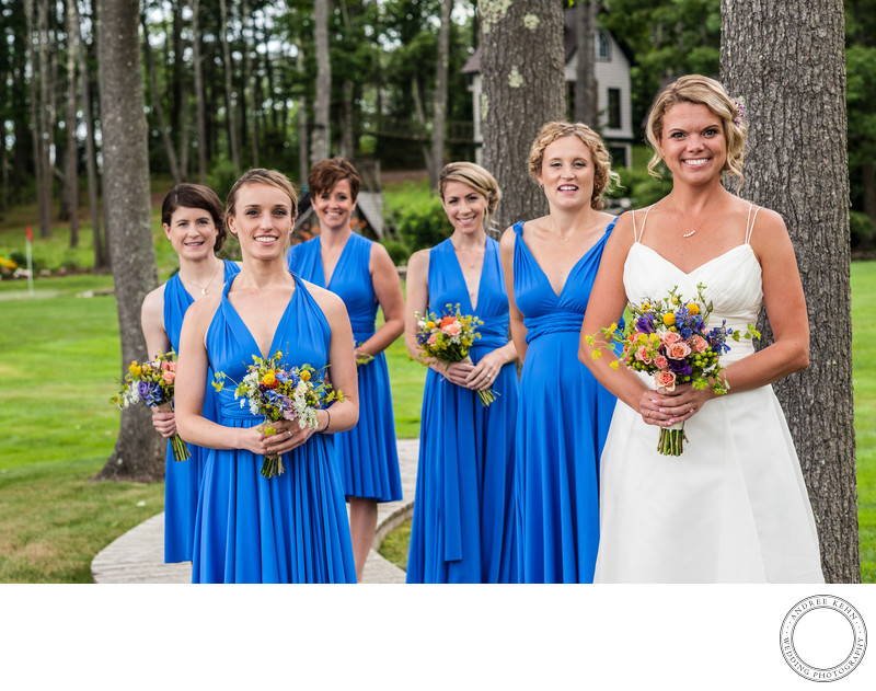 Bridesmaids in Freeport