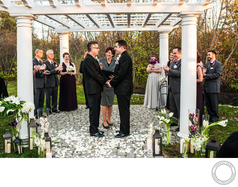 Maine Garden Weddings Same-sex