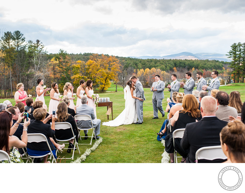 Bethel, Maine Wedding Ceremony