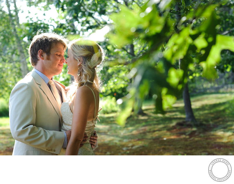 Hulls Cove wedding photographer