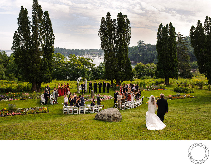 Scenic Maine Wedding vista