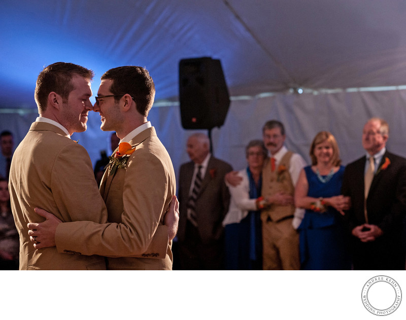 Maine Gay Wedding Photography