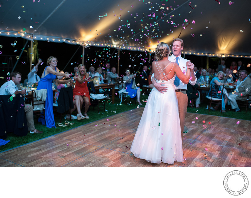 Tented receptions in Maine