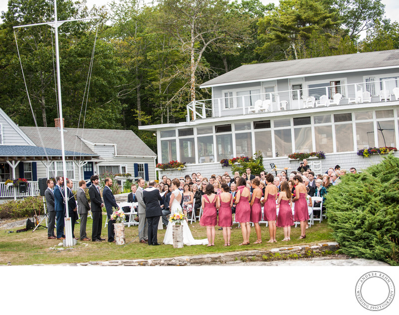 Boothbay Maine wedding Photographers