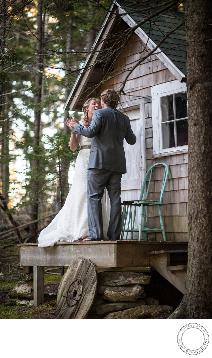 Maine island weddings
