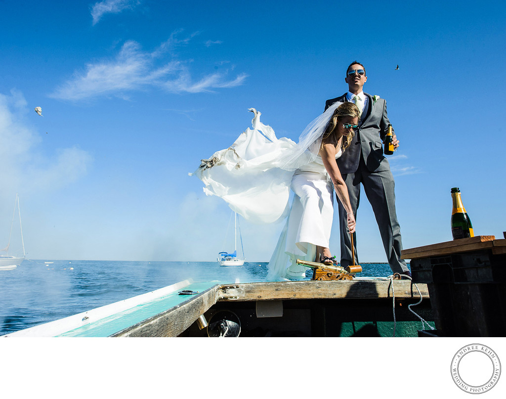 nautical canon wedding