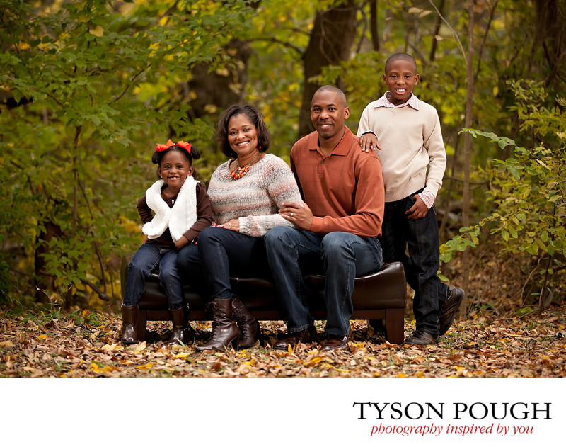 Richardson Family Fall Portraits