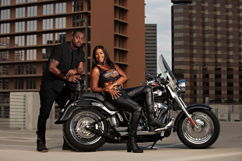 Dallas Biker Couple