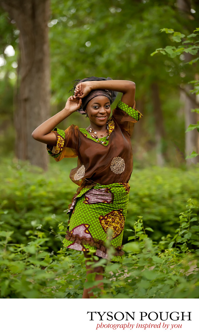 Beautiful Nigerian Senior