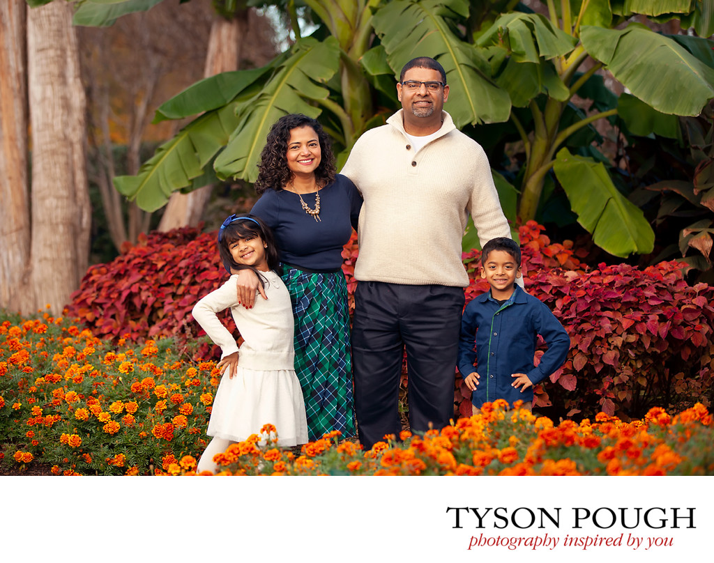 Dallas Arboretum Family Portraits