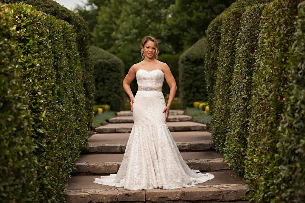 Bridal Portraits at the Dallas Arboretum