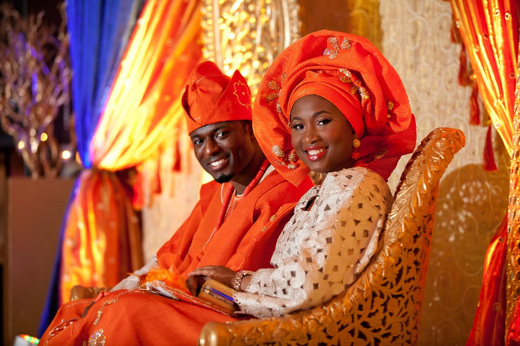 Beautiful Dallas Nigerian Wedding