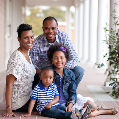 Hattiesburg Family Portrait Session
