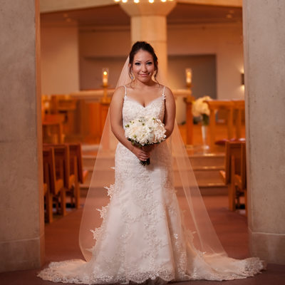 St Rita's Catholic Wedding Bridal Session