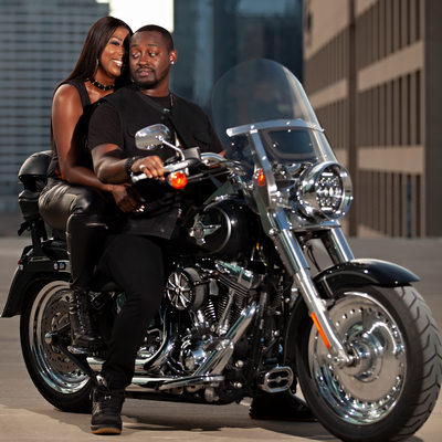 Biker Couple | Dallas Photography