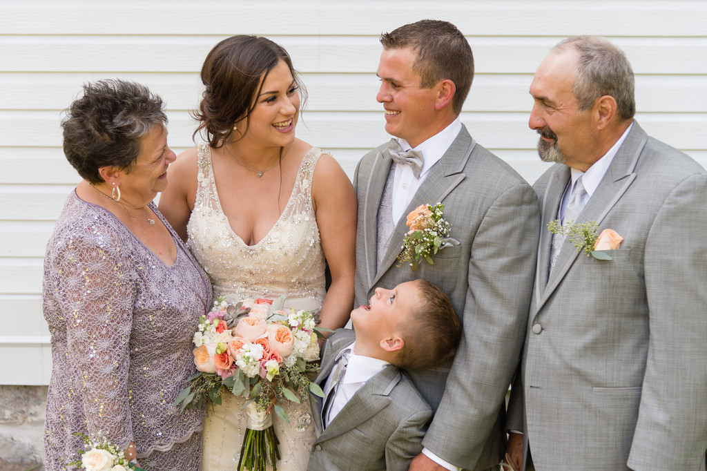 First Lutheran Church Wedding, Madison, Family Portraits