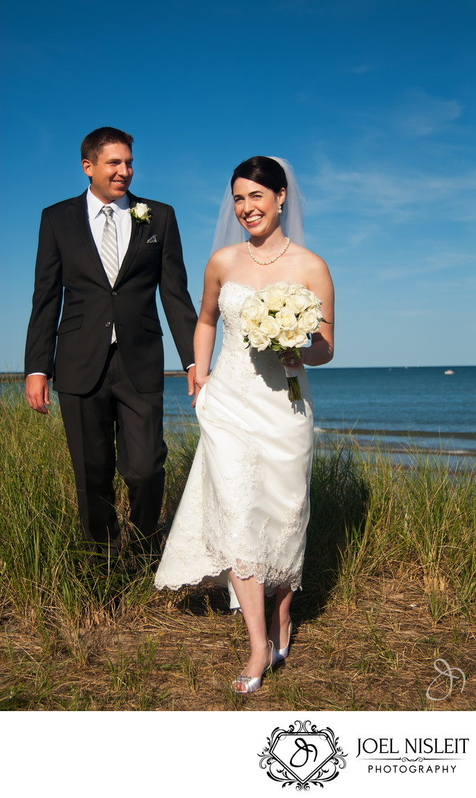 Blue Harbor Sheboygan Wedding Photographer