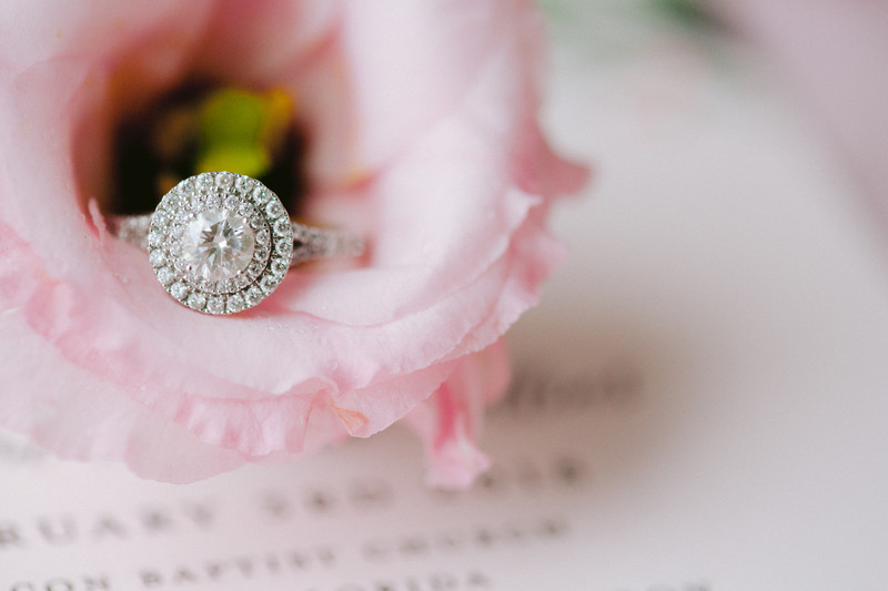 Beautiful Wedding Ring Photo,  Wyndham Grand Jupiter