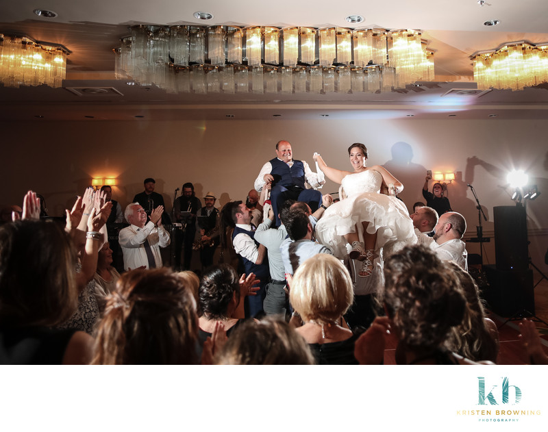Jewish Wedding Reception, Marriott Hutchinson Island
