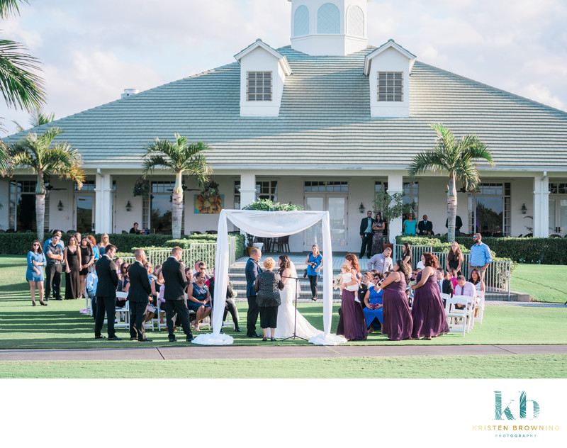 Lost Lake Country Club Ceremony