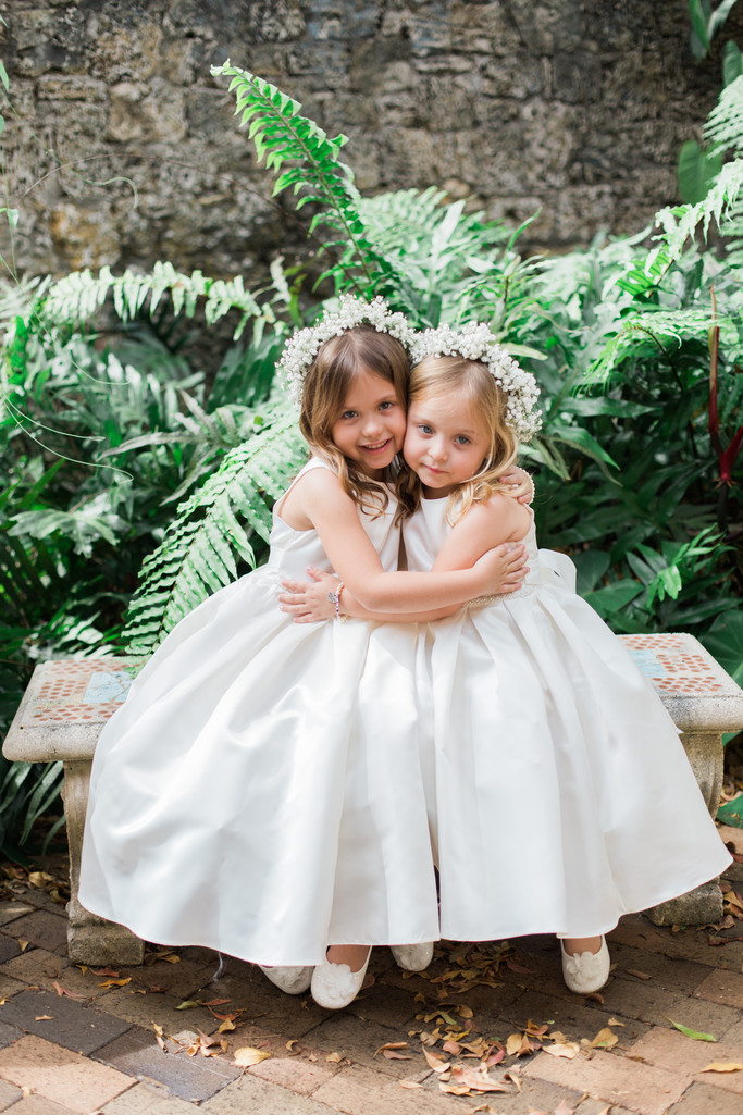Plymouth Congregational Church, Flower girls