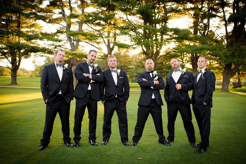 Groomsmen, Portland Country Club