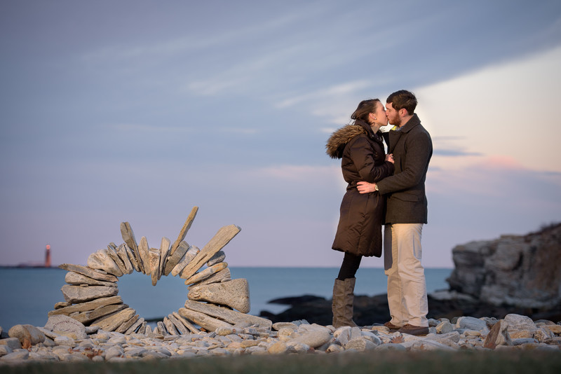 Fort Williams Park Engagement Photographer