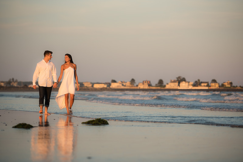 Parsons Beach Engagement Session