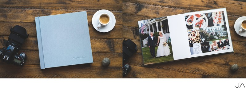 Maine Wedding Album Collections