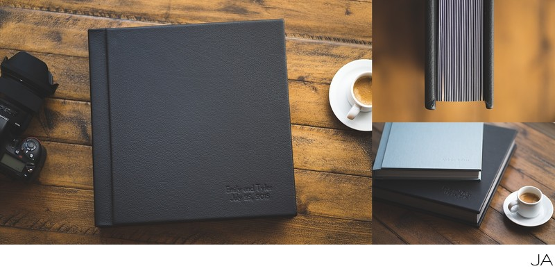 Premium Leather Wedding Album