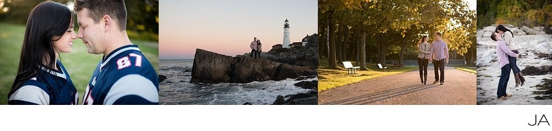 Fort Williams Park Engagement Photography Session