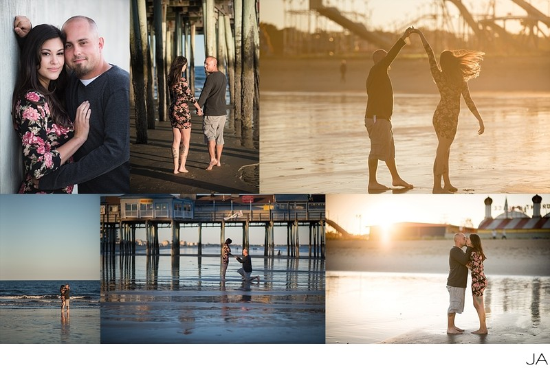 Old Orchard Beach engagement photography