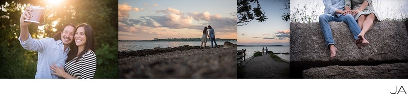 Engagement Photographs on Mackworth Island