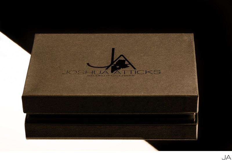 Joshua Atticks Wedding Photography USB Boxes