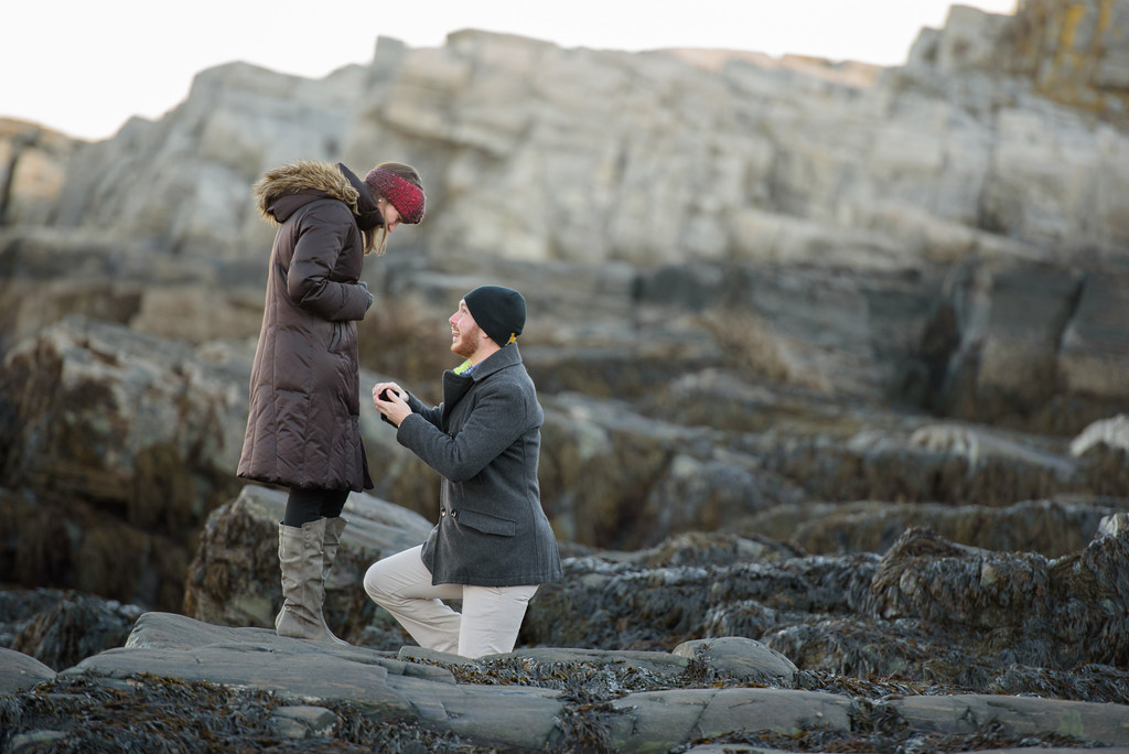 Proposal at Fort Williams Park