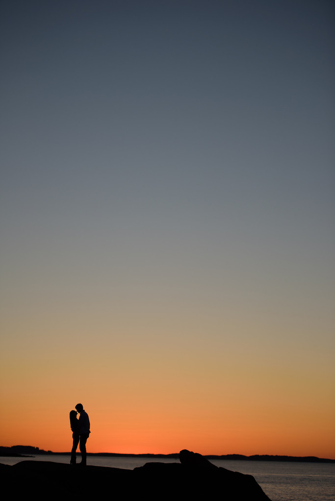 Halibut Point Engagement Photography