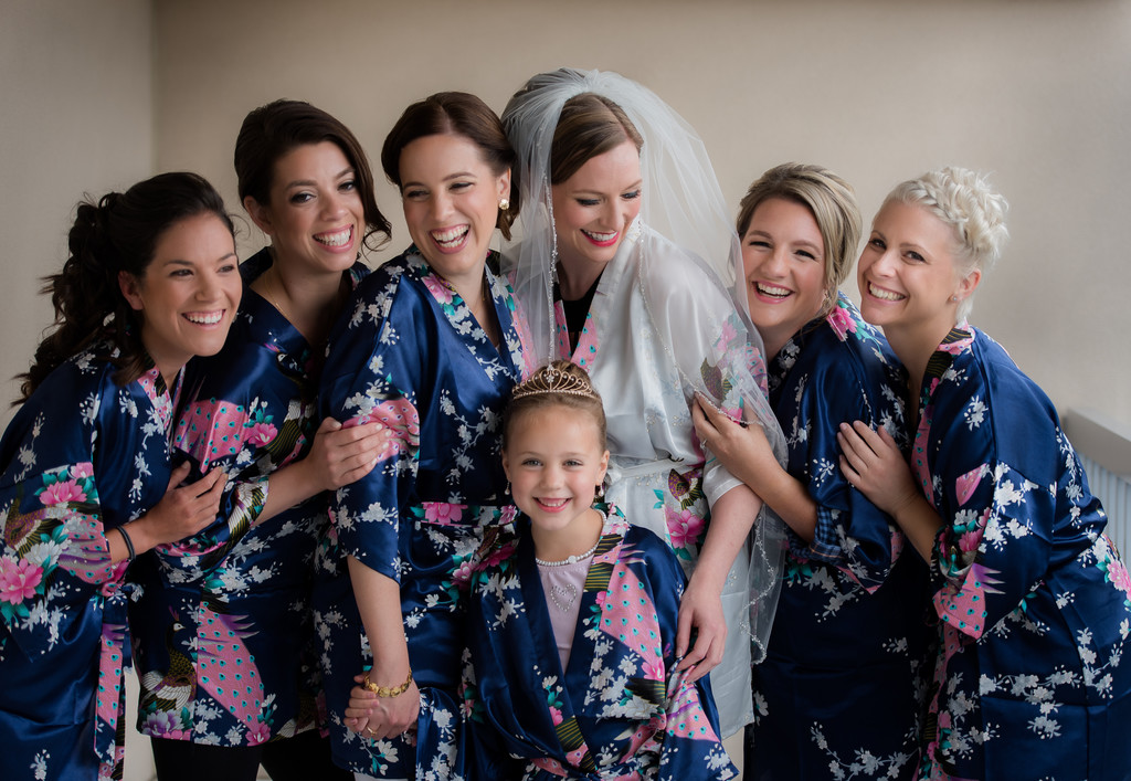 Bridesmaids - Maine Wedding Photographer Joshua Atticks