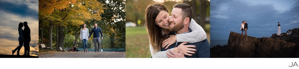 Fort Williams Engagement Photography