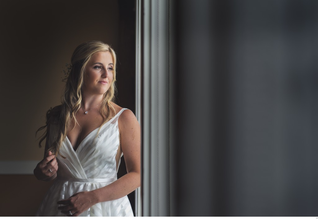 Bridal Portrait at the Samoset Resort