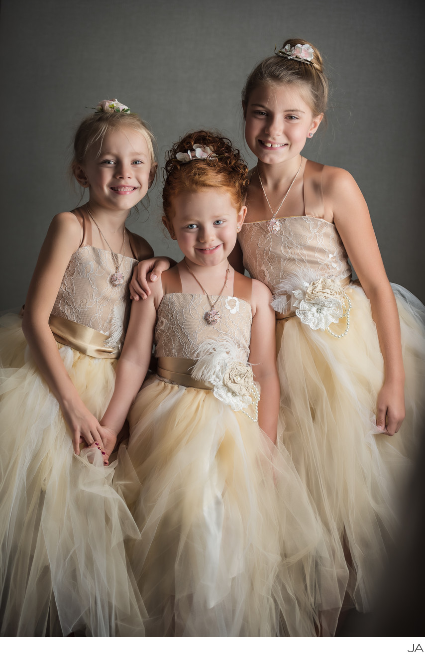 Flower Girls - Portland Maine Wedding Photographer