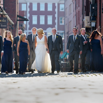 Maine Wedding In the Old Port