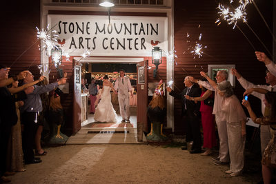 Wedding at the Stone Mountain Arts Center