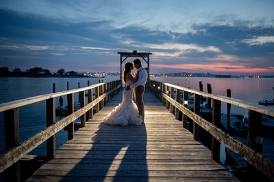 Peaks Island Maine Wedding