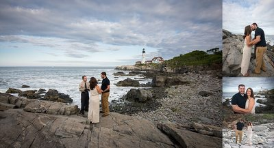 Fort Williams Park Elopement Wedding Photography
