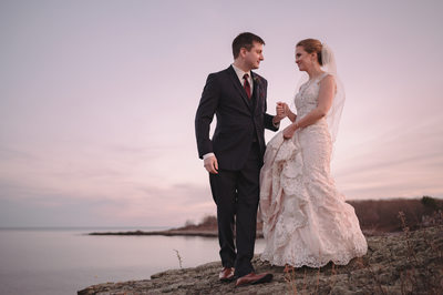 Coastal Wedding Photography at the Stage Neck Inn