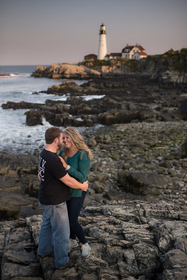 Engagement and couple photography at Fort Williams