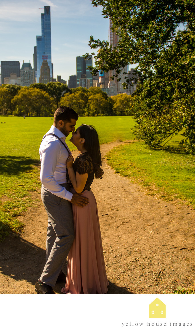 Best Spots in Central Park for Engagement Photography